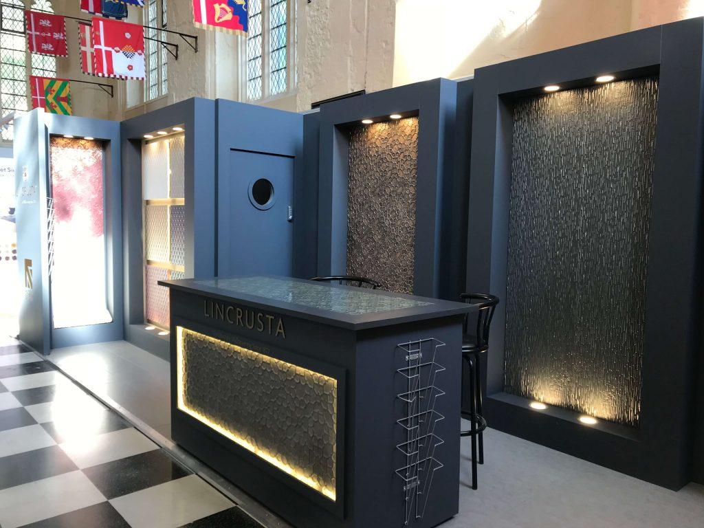 Event Set Exhibition Lincrusta