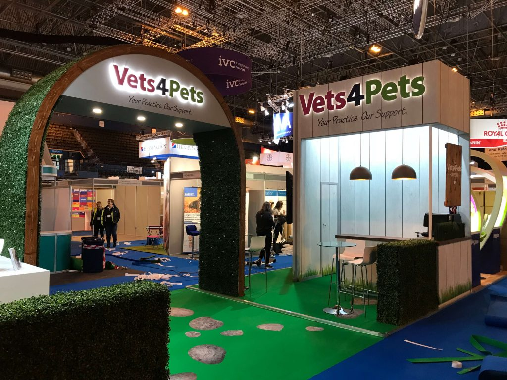 room setup for exhibitions vetspets (1)