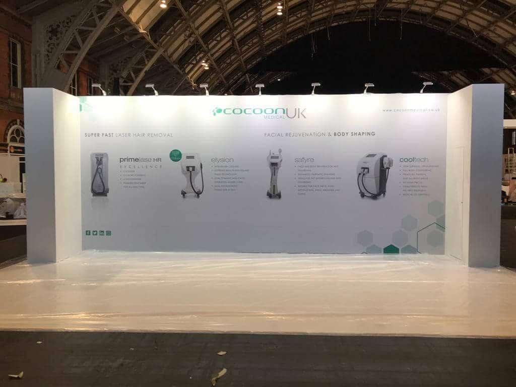 Cosmeditiech Exhibition Design Manchester
