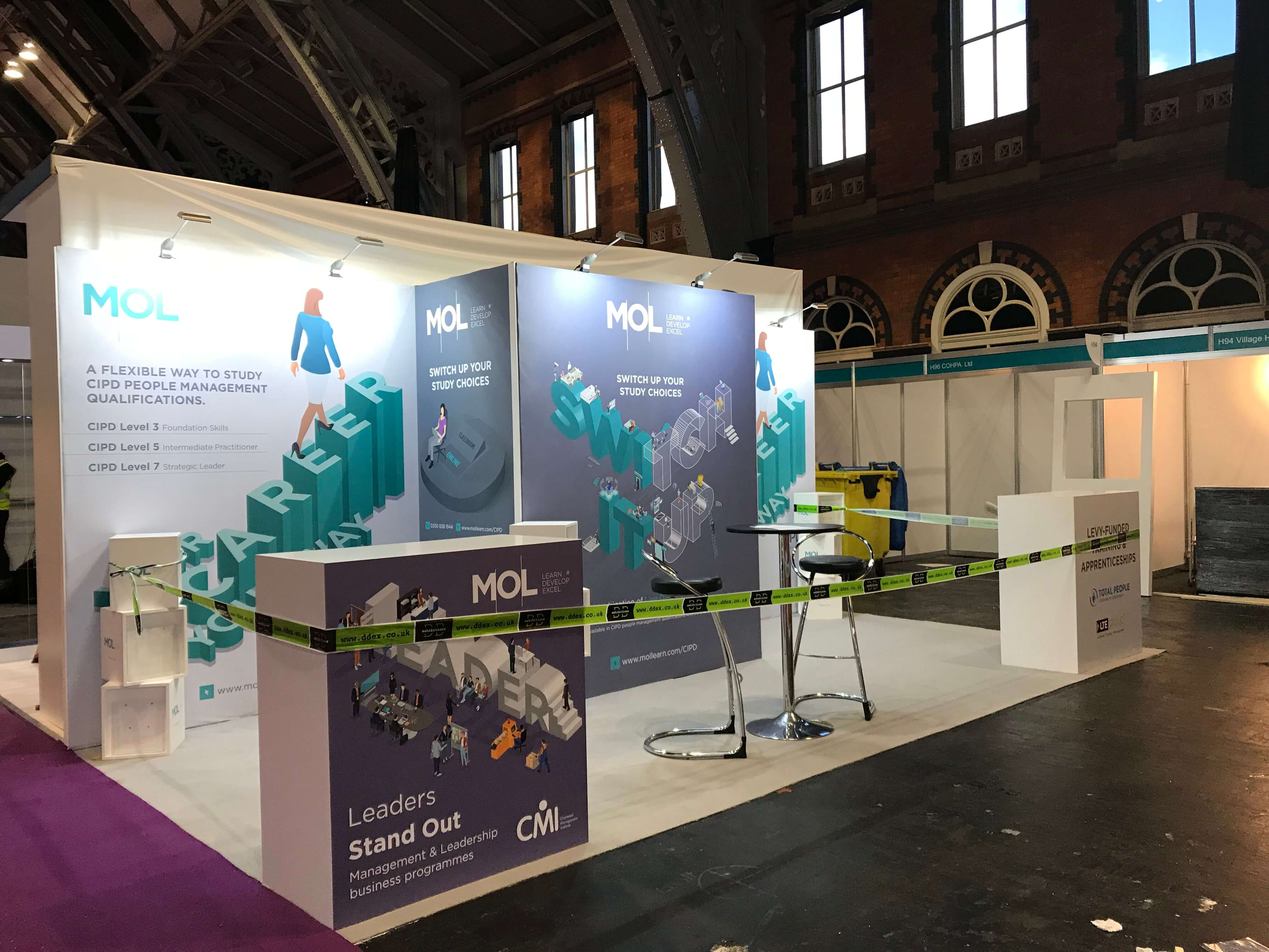 Exhibition Stand Design And Build Manchester : Our favourite exhibition design manchester dd exhibitions