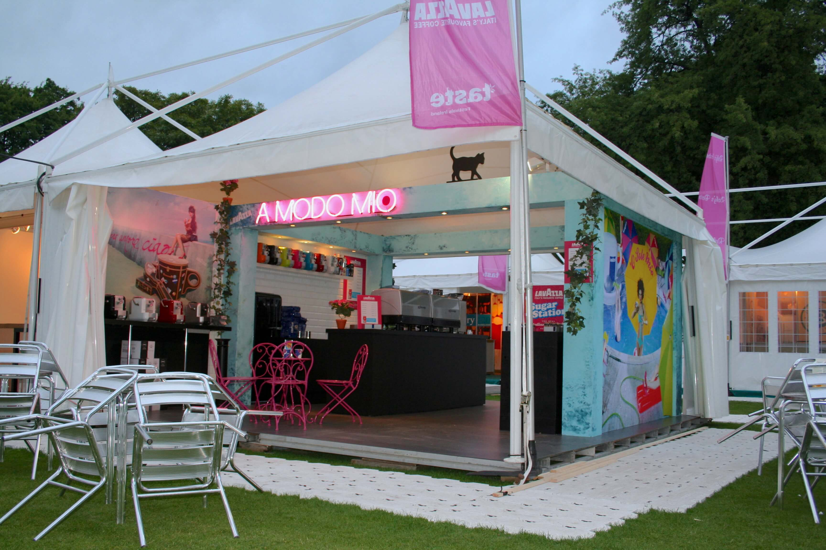 Marketing Exhibition Stand Uk : Marketing at music festivals with your bespoke exhibition stand