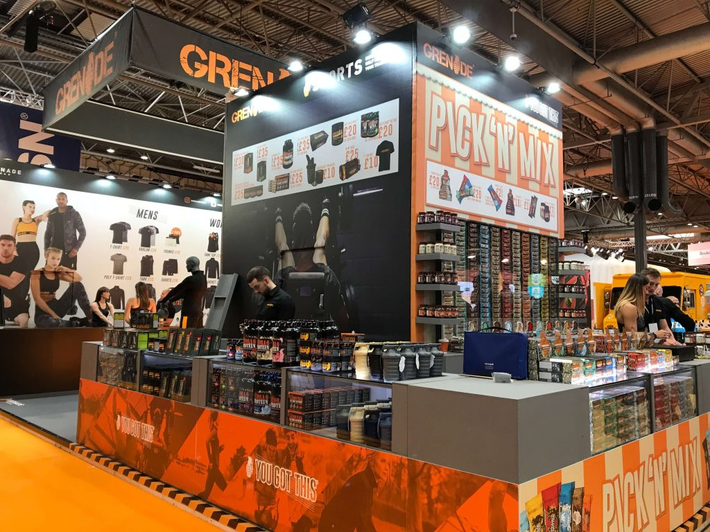Grenade Body Power Sport Show Stand Designs Manchester (1)